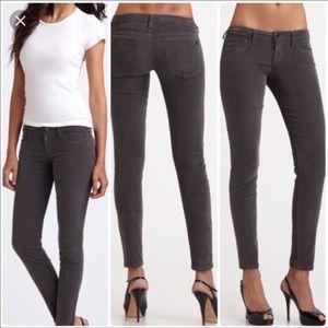 Joe's Jeans grey cords Chelsea skinny ankle 25